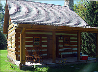 New Old Cabin - Front