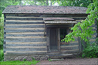 Old cabin #1 - front view